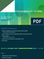 Cisco WebRTC
