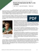 DDona Nair, A Professora Do Barracão Da Vila 7, e Os Tempos Do Barro e Poeira - Luiz de Carvalho