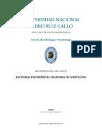 Bacterias Rizosféricas Fijadoras de Nitrógeno | UNPRG