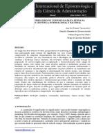 ANÁLISE DO SIMBOLISMO NO CONSUMO DA BAIXA RENDA NA PRODUÇÃO CIENTÍFICA INTERNACIONAL E NACIONAL