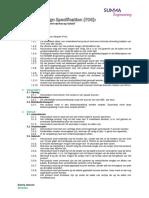 project kickstarter - functional design specification v3