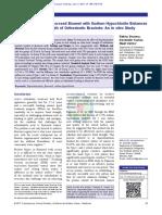 Deproteinization of Fluorosed Enamel With Sodium Hypochlorite Enhances