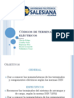 Códigos de Terminales Electricos