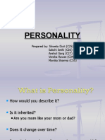 Personality Final Ppt of Ob