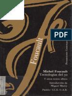Michel Foucault Tecnologias Del Yo.pdf