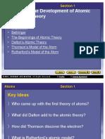 ch04 sec1 development of atmoic theory