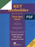 KET Testbuilder With Answer Key