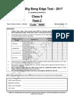 Bbet 2017 c Ix Paper 2 Pcmb