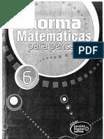 Matematicas Para Pensar 6