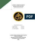 Manufactur's Final Report