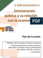 Clase 3 - Administración Pública y Economía