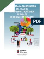 Guia Plan Inmersion Ingles Infantil