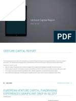 Dow Jones VentureSource Europe Venture Capital Report 3Q 2017