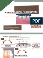 Examen Clinic Parodontal- A Doua Parte