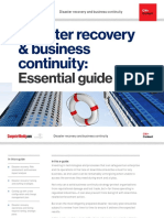 Disaster Recovery and Business Continuity Essential Guide
