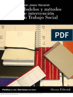Modelos y Métodos de Intervencion en Trabajo Social