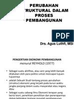 Perubahan Struktural Proses Pembangunan