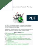 Guía Práctica Para Elaborar Planes de Marketing Para PYMES