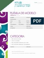 Formato para Agencia de Modelos