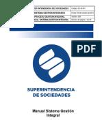 Ejemplo Manual Gestión Integral