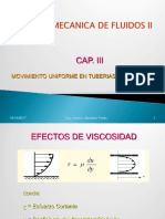 Clase III Flujo Uniforme Turbulento