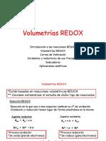 Volumetrias REDOX
