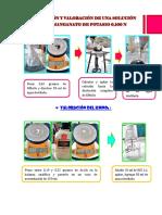 Preparación y Valoración de Una Solución de Permanganato de Potasio
