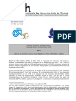 FIDH_PER_UPR_S2_2008_FederacionInternacionaldelosDerchosHumanos_uprsubmisson.pdf