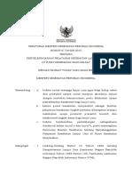 PMK No. 67 Ttg Penyelenggaraan Pelayanan Kesehatan Lanjut Usia Di PUSKESMAS