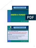Diseño Torsion