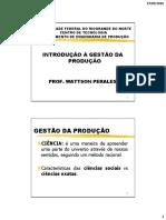 Introdução GSP1