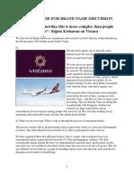 1a_VISTARA Case for Brand Name Discussion