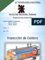 Inspeccion de Caldera