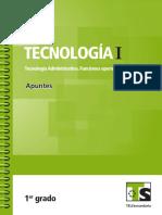 Tec I Administrativa Funciones Operativas Primero