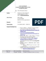 DSL 100 Scientific Literacy Syllabus Fall 09