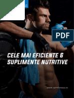 Cele Mai Eficiente 6 Suplimente Nutritive - TomFitness.ro