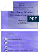 Distributed Wireless Communication System - Copy