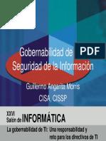 Gobernabilidad de TI y Seguridad de La Informacion