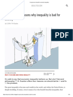 4 Reasons We Should Fix Economic Inequality