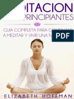 Elizabeth Hoffman - Meditación para principiantes.pdf