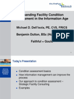 Condition Assessment in the Information Age