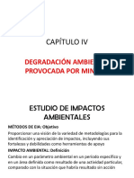 Capítulo IV Investigación de Áreas Degradadas Por Minería