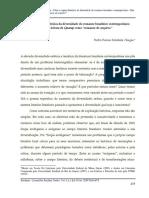 DOLABELA - Sobre a Origem Histórica Da Diversidade Do Romance Brasileiro Contemporâneo