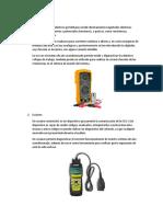 Instrumentos de medicion aire acondicionado