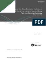 Exec Summary of Orange Line technical study