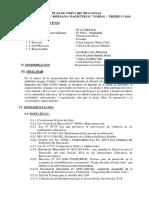 Plan de Paseo Estudiantil by BMML