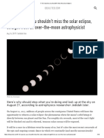 5 1_2 Reasons You Shouldn't Miss the Solar Eclipse