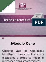 DELITOS ELECTORALES(1)