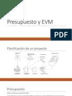 Presupuesto y EVM