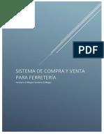 Ejemplo de Desarrollo de Software